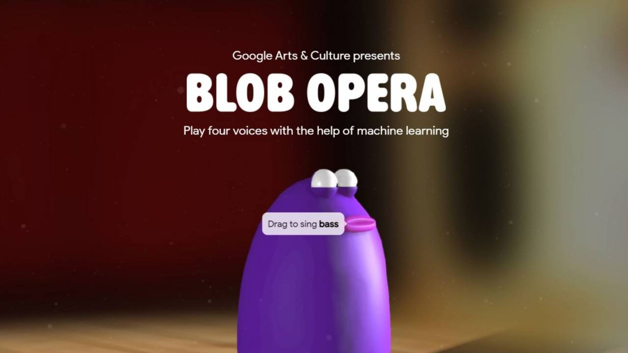 Blob Opera - Incredible Christmas gift from Google